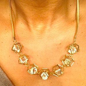 Jewelry - Last Chance - Beautiful gold statement necklace
